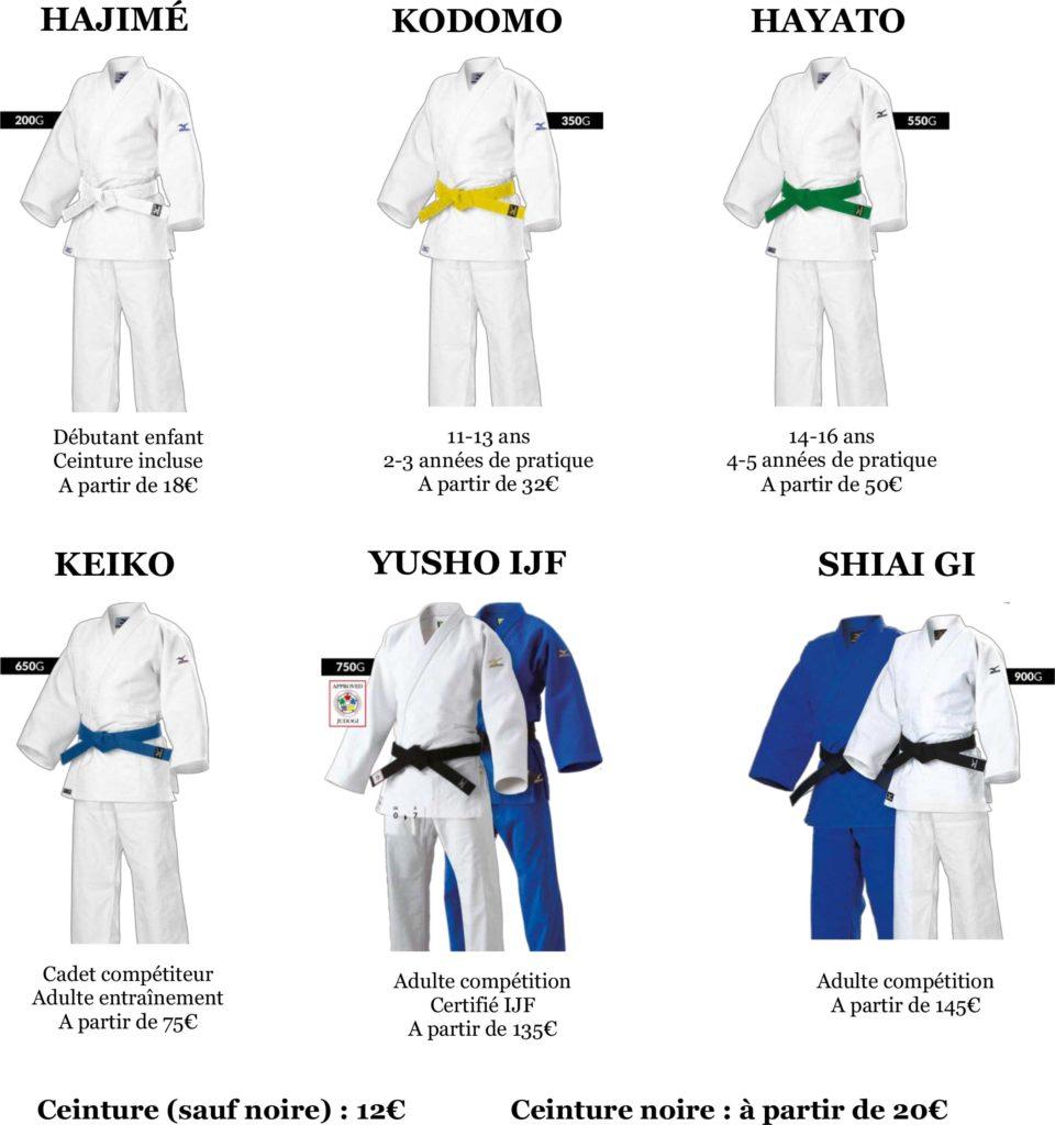 Offre judo